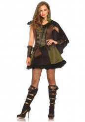Costume da eroina dei boschi per donna