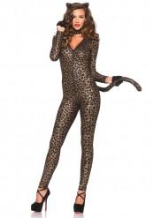 Costume tuta da leopardo sexy donna