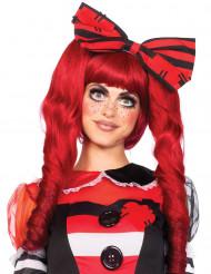 Parrucca rossa a codette