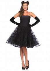 Costume nero donna anni '60