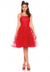 Costume Donna Rosso Anni 50