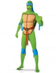 Costume seconda pelle Leonardo Tartarughe Ninja™ adulto
