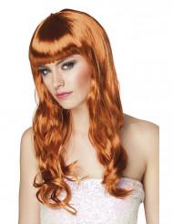 Parrucca lunga ramata donna
