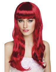 Parrucca lunga rossa donna