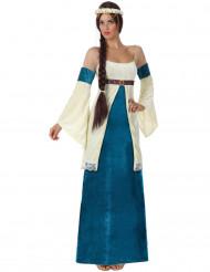 Costume dama del medioevo donna