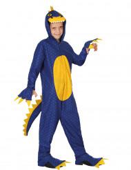 Costume dinosauro con cappuccio bambino