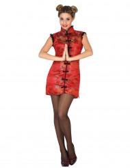 Costume Cinesina rossa donna