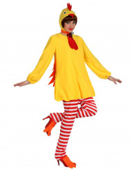 Costume gallina donna