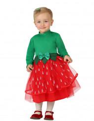 Costume dolce fragola bambina