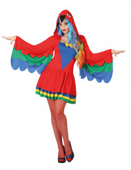 Costume pappagallo donna