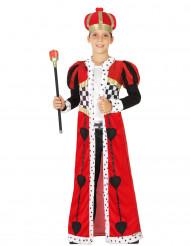 Costume re di cuori bambino