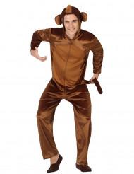 Costume scimmia uomo