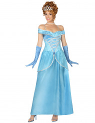 Costume principessa blu donna
