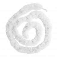 Ghirlanda marabù bianco 180 cm