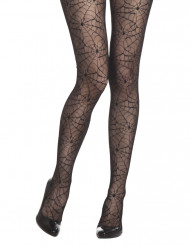 Collant ragnatele donna Halloween
