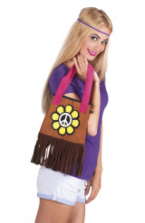 Borsa Hippie Flower Power
