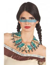 Collana blu indiana