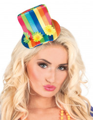 Mini cappello multicolore Donna