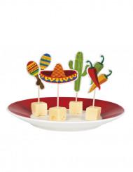 12 Stuzzicadenti decorativi Messico