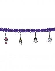 Ghirlanda Halloween: teschi Dia de los muertos