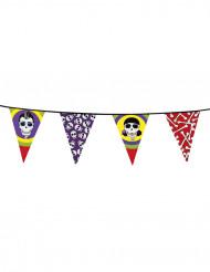 Ghirlanda Halloween: bandierine Dia de los muertos