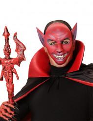Maschera demone rosso Halloween