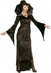 Costume contessa ragno adulto Halloween