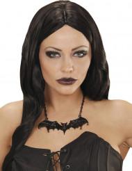 Collana pipistrello nero adulto Halloween