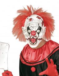 Maschera clown assassino adulto Halloween