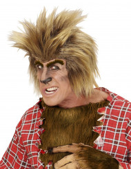 Parrucca lupo mannaro adulto Halloween