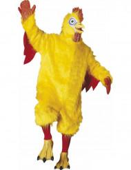 Costume mascotte gallo adulto