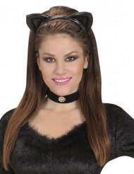 Cerchietto gatto nero adulto