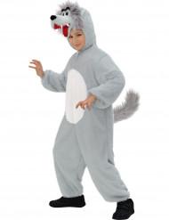 Costume tuta da lupo bambino