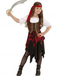 Costume da pirata con corsetto per bambina