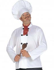 Cappello, casacca e foulard da cuoco per adulti