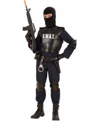 Costume da poliziotto squadra speciale per bambino