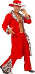 Costume da protettore rosso adulto