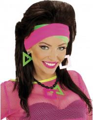 Fasce per capelli rosa e verde