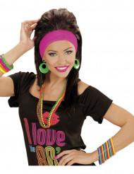 15 braccialetti multicolore