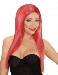 Parrucca lunga glamour rossa donna