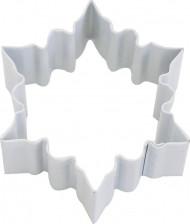 Formella per torte fiocco di neve 7 cm Natale