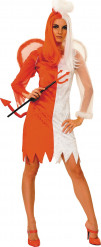 Costume angelo e diavolo per donna Halloween