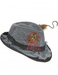 Cappello borsalino con ratto per adulto Halloween