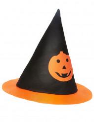 Cappello strega zucca bambino Halloween