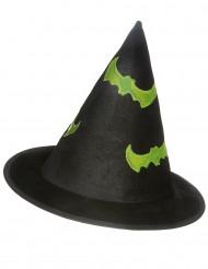 Cappello da strega riflettente bambino Halloween