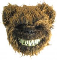 Maschera orso terrificante adulto Halloween