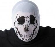 Passamontagna scheletro adulto Halloween