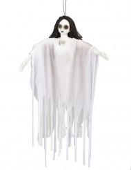 Decorazione di Halloween: dama bianca zombie luminosa