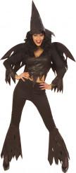 Costume strega sexy e divertente adulto Halloween