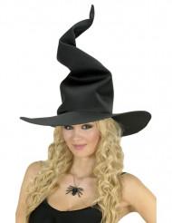 Cappello donna da strega in gommapiuma nera